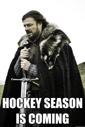Hockey Season is Coming